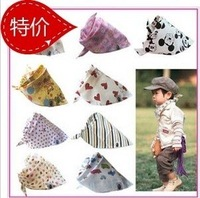 PROM baby boys girls neckerchief scarf headscarf Slobber towel ladies Grils turban 100% cotton hot sell free shipping