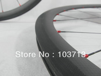 Stock+1250g only Farsport road bike 38mm carbon clincher wheels,Sapim Cx-ray+Basalt brake surface