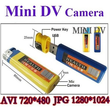 Free Shipping 100% Brand New Mini DV Hidden Lighter Camera Cam Video Recorder