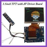 "3.5"" Driver board, AV board for LQ035NC111"