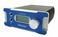 CZH-01A CZE-01A FU-01A 1W FM PLL radio broadcast transmitter PC Control+ GP100 1/4 wave anti-rain antenna+power supply kit