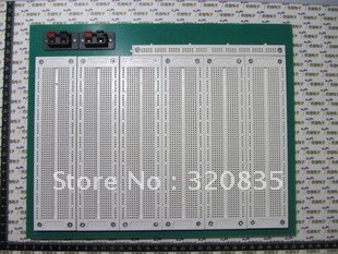 Freeshipping 6 in1 SYB-130 breadboard PCB Solderless assembly Bread board+65 Jumper wire