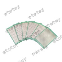 FR4 5x7cm Prototyping DIY PCB Board Prototype x6pcs 12742