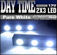 Wholesale 10PCS Car 3W Mini 3LED Eagle Eye Lights Daytime Running Lights DRL Lamp Waterproof  Fog Light  Driving Light #C111C