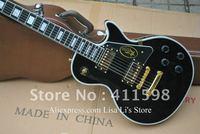 Deluxe Custom Shop 1958 signature electric guitar black color mahogany ebony fingerboard music electric guitar with case