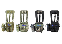 New Arrival,High quality Canvas Multi-function fishing leg bags,fishing tackle freeshipping