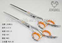 Free shipping JAPAN JOEWELL 6.0 inch Hairdressing Scissors, 9CR-13 Barber Scissors, Razor Scissors slippery