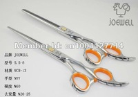 Free shipping JAPAN JOEWELL 6.0 inch Hairdressing Scissors, 9CR-13 Barber Scissors, Razor Scissors slippery