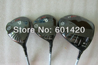 High quality G25 woods set Driver+ 3 wood +5 wood 3pcs with graphite shaft free headcover freeshipping