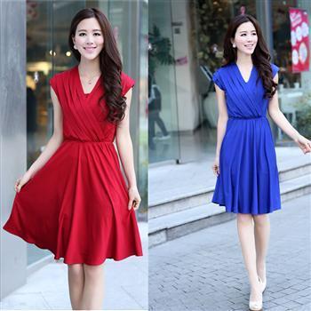 Women Summer dress 2015 new fashion Career lace chiffon Plus Size mini novelty quality lady Vintage dresses for women  408