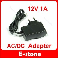 Free shipping 3 Pcs/Lot 12V 1A AC DC Plugtop Power Adapter Supply 1000mA New