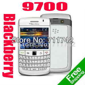 Original  Blackberry Bold 9700 black Unlocked refurbished Smar tphone Valid PIN+IMEI 3G Phone