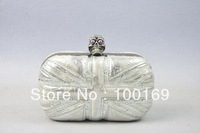 Monthly special offer_Special sell clutch  bag, fashion silver clutch bag -only for 1 pc free shipping