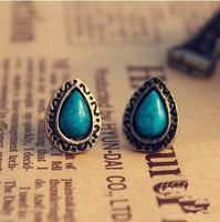 Min.order is $5 (mix order) Free Shipping Korean fashion Vintage earrings best gift for Christmas stud earrings (J217)