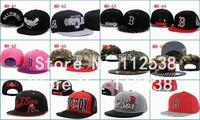 Wholesale baseball hats Boston Red Sox snapback caps adjustable hats free shipping