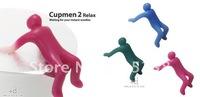 Free shipping 20pcs/lot Cupmen 2 Relax Instant Noodle Figure Set Instant Ramen Readiness Indicator
