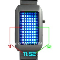 Free shipping! LED watch, Digital watch, The One Kelvin - Japanese Style Mid-Sized Blue LED Watch - Elite and Chill!