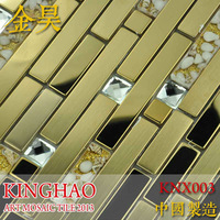 [KINGHAO] Supply Mosaic Wholesale Silver Stainless steel Mosaic K00227