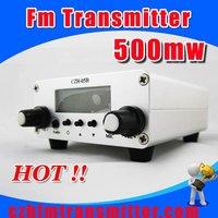 CZH-05B 0.5w Fm transmitter PLL 76-108Mhz Radio Broadcast  FREE SHIPPING