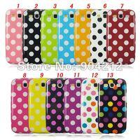 Girls Favorite Cute Polka Dot TPU Case for Samsung Galaxy S3 S III i9300