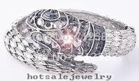 crystal snake cuff bracelet Fashion jewelry bracelet~free shipping#7010