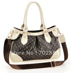 Free shipping, 2012 New Arrivals Super Star Shoulder Tote Boston HOBO Bag Handbag wholesale and retail(China (Mainland))