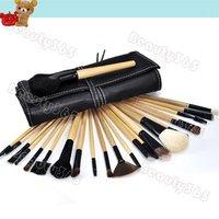 3set/Lot 24Pcs Professional Makeup Brush Set Cosmetic Brushes Kit Tool + Roll Up Case 956