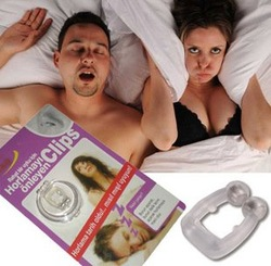 Fedex Free Shipping Wholesales 400pcs/lot Stop Snore Free Anti Snoring Nose Clips Sleep As Seen On Tv(China (Mainland))