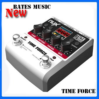 NUX Force series /Stomp Boxes / Guitar Effect Pedals / TIME FORCE Multi Digital Delay(China (Mainland))
