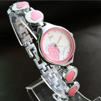 0039-Free shipping wholesale + brand Ladies Bracelet Watch + watch 100% hot fashion