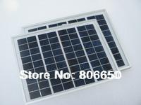 * 10w 2pcs 5w  18v polycrystalline solar pane,solar module,high quality,free shipping#