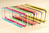 High Quality Signal Bumper Case Skin Cover Frame Nylon For iphone 4 4G 4S Free Shipping