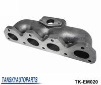 CAST TURBO MANIFOLD for HONDA H22 (T3 FOR 38MM Wastegate) TK-EM020