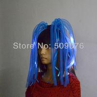 2014 novelty Free shipping 10pcs/lot led hair braid led noodle headband for events