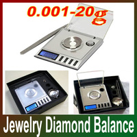 1pcs 0.001 - 20g Digital Weighing Gem Jewelry Diamond Scale Pocket scale Free Shipping