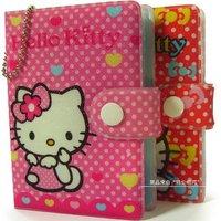 wholesale lot 2pcs hello kitty sanrio hellokitty KT Hello Kitty Business Bank Credit Card badge ID Holder Bag Case FREESHIPPING