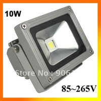 10W Led Flood Light Lamp Warm White Waterproof 85~265V +Free shipping