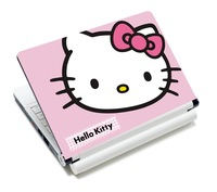 "Pink Hello Kitty Anti-Skidding Art Laptop Sticker Skin Decal Protector For 12"" 13.3"" 14"" 15"" 15.4"" Laptop"