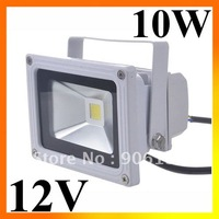 Wholesale DC12V 10W LED FloodLight Pure White / warm white / RGB Waterproof