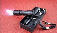 Mini aluminum LED Torch Handy Flashlight Waterproof Superbright Torch For Sporting camping 3W