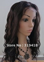 "Wholesale! 2# Dark Brown Lace Front Wigs Premium Loose Body Wave 100% Indian Remy Human Hair Lace Wigs 14""-24"" For Sale Cheap"