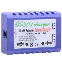 2-3 Cells LiPo 7.4v 11.1v Battery Charger+Power Adapter