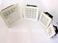 4w/9w/25w led ceiling indoor light high lumen downlight square white shell spot lighting lamp white/warm white