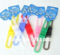 Free Shipping (10 pieces/lot) cheapest Bicycle bike Cycling Silicon belt,Silica gel fixtures,Bottle Cage