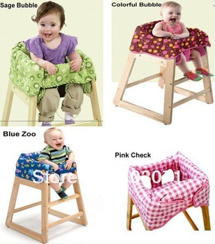 Baby Kid Infant Child Toddler Feeding High Chair Cover Clean Dinner Dinning Seat Booster Cushion Pad Mat--4 Patterns Available