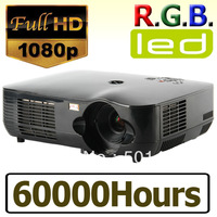 2800lms LED Projector with 1920*1080 Native Resolution 2 HDMI inputs