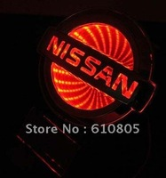3D car logo light for Nissan Tiida,car badge light,auto emblem led light