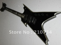 Wholesale -High quality Arrival DIME Razorback black electric guitar