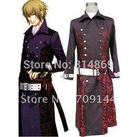 Free Shipping Hakuoki Chikage Kazama Cosplay Costume XXS-4XL