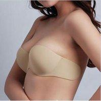 2014 New Design Invisible Self-Adhesive Strapless Silicone Breast Bra 399669-34A,B,C